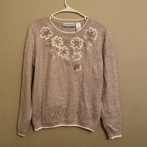 Macy's Alfred Dunner knit sweater